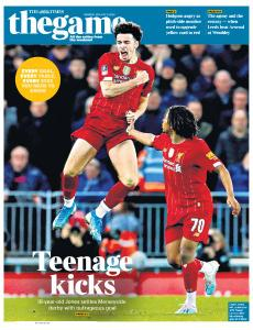 The Times - The Game - 6 January 2020