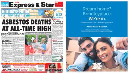 Express and Star City Edition – July 22, 2019