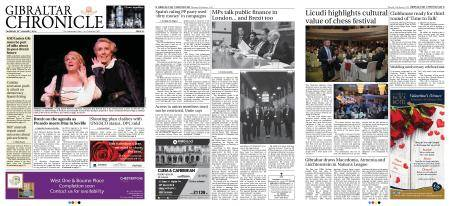 Gibraltar Chronicle – 25 January 2018