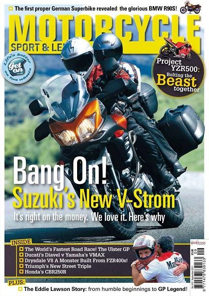 Motorcycle Sport & Leisure - September 2011