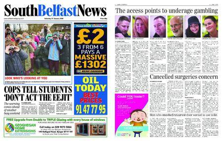 South Belfast News – January 25, 2018