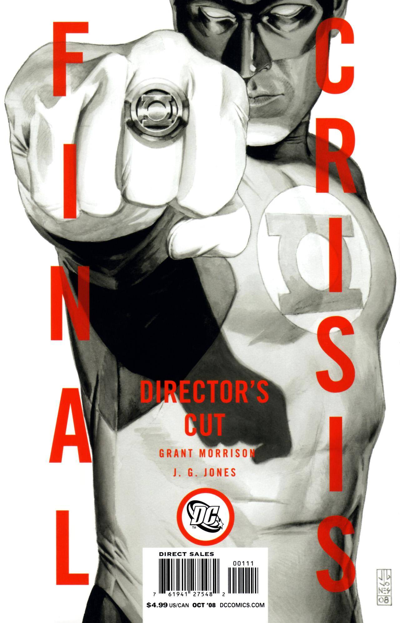 Final Crisis 01 (of 07) Director's Cut (2008)