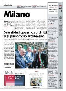 la Repubblica Milano - 3 Giugno 2018