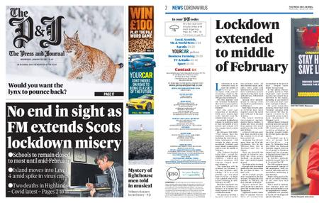The Press and Journal Moray – January 20, 2021