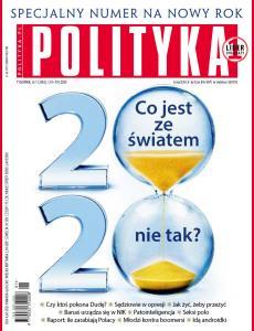 Tygodnik Polityka • 1 stycznia 2020