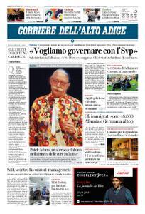 Corriere dell'Alto Adige – 26 ottobre 2018