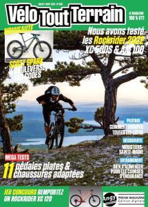 Vélo Tout Terrain - Juillet-Août 2021
