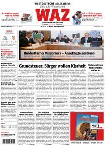 WAZ Westdeutsche Allgemeine Zeitung Wattenscheid - 28. Juni 2019