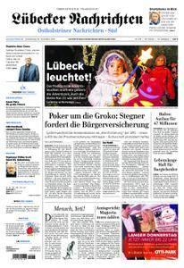 Lübecker Nachrichten Ostholstein Süd - 30. November 2017