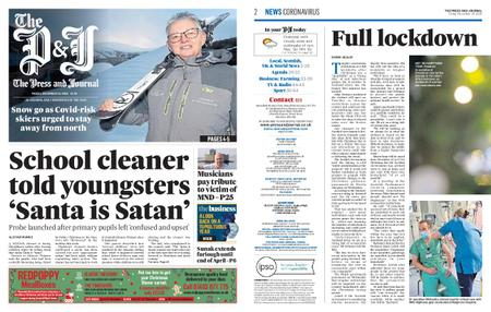 The Press and Journal Moray – December 18, 2020