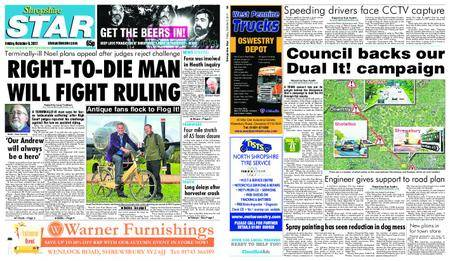Shropshire Star Shrewsbury Edition – October 06, 2017