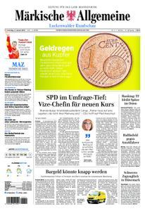 Märkische Allgemeine Luckenwalder Rundschau - 03. Januar 2019