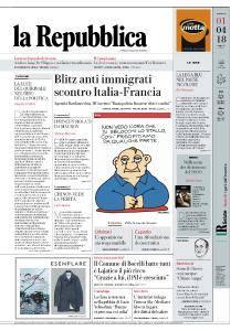 la Repubblica - 1 Aprile 2018
