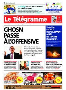 Le Télégramme Guingamp – 09 janvier 2020