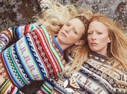 Raquel Zimmermann & Erika Linder by Mikael Jansson for Vogue Paris November 2019