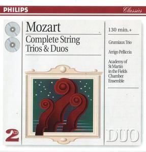Arrigo Pelliccia, Grumiaux Trio, Academy of St. Martin-in-the-Fields - Mozart: Complete String Trios & Duos (1996)