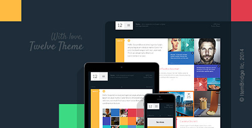 ThemeForest - Twelve v1.0.2 - Original & Creative WordPress Theme