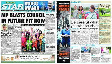 Shropshire Star Shrewsbury Edition – September 13, 2017