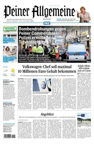 Peiner Allgemeine Zeitung - 7 Februar 2017