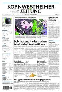 Kornwestheimer Zeitung - 14. September 2017