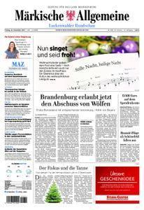 Märkische Allgemeine Luckenwalder Rundschau - 22. Dezember 2017