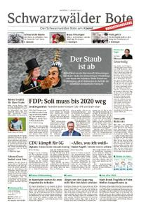 Schwarzwälder Bote Hechingen - 07. Januar 2019