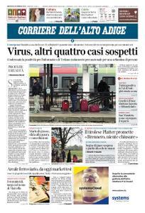 Corriere dell'Alto Adige – 26 febbraio 2020
