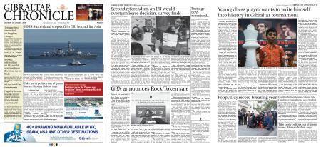 Gibraltar Chronicle – 13 January 2018