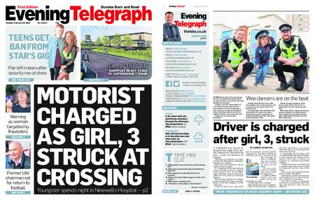 Evening Telegraph First Edition – February 19, 2019