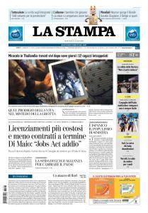 La Stampa Torino Provincia e Canavese - 3 Luglio 2018