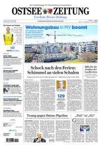 Ostsee Zeitung Wolgast - 05. April 2018