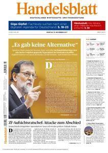 Handelsblatt - 13. November 2017