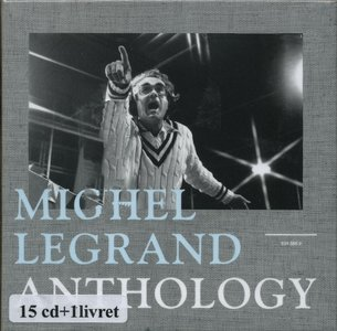 Michel Legrand - Anthology (2013) {15CD Box Set EmArcy--Universal Music France 5345569}