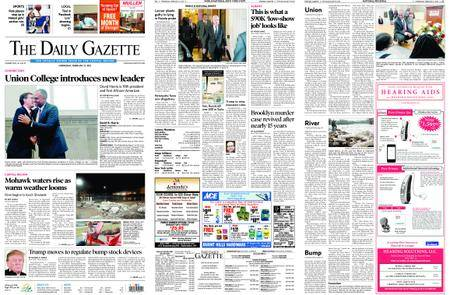 The Daily Gazette – February 21, 2018