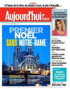 Aujourd'hui en France - 23 Décembre 2019