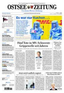 Ostsee Zeitung Wolgast - 15. März 2018