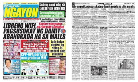 Pilipino Star Ngayon – Oktubre 22, 2020