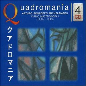 Arturo Benedetti Michelangeli - Piano Masterworks (2004) (4CDs)