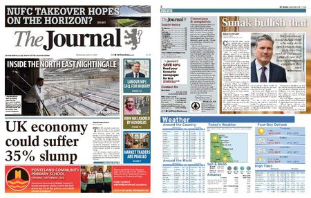 The Journal – April 15, 2020