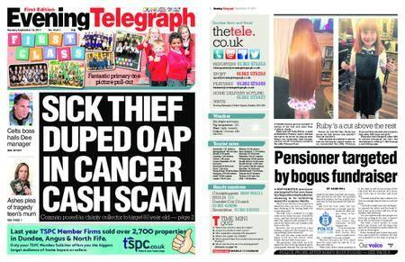 Evening Telegraph First Edition – September 19, 2017