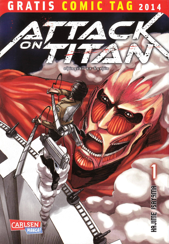 GCT1 2014 02--Attack of Titan 01-Carlsen Manga cbr