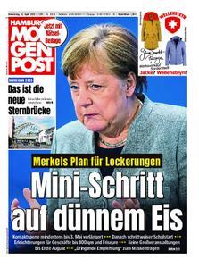 Hamburger Morgenpost – 16. April 2020