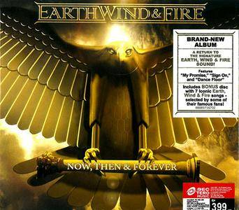 Earth, Wind & Fire - Now, Then & Forever [2CD Deluxe Edition] (2013)
