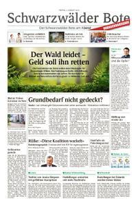 Schwarzwälder Bote Sulz - 02. August 2019