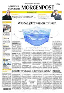 Solinger Morgenpost – 16. April 2020