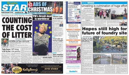 Shropshire Star Shrewsbury Edition – November 26, 2018