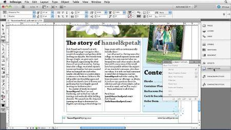 InDesign CS5 New Features
