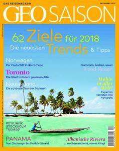 Geo Saison - Dezember 2017