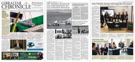 Gibraltar Chronicle – 23 June 2020