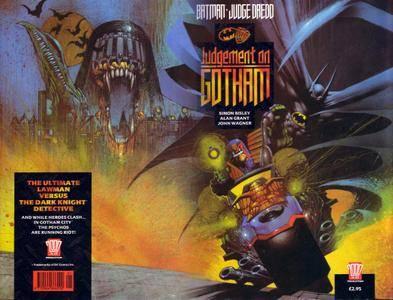 Batman-Judge Dredd 1991 - Judgement on Gotham